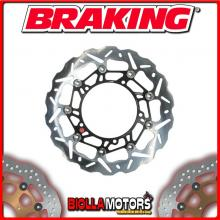 WK110L DISCO FRENO ANTERIORE SX BRAKING DUCATI MONSTER 796 800cc 2011-2014 WAVE FLOTTANTE