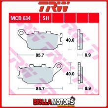 MCB634 PASTIGLIE FRENO POSTERIORE TRW Honda CBF 500 2004- [ORGANICA- ]
