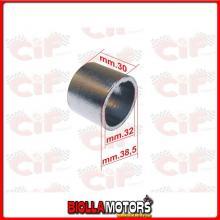 9174 BOCCOLA IN GRAFITE COLLETTORE SCARICO PIAGGIO MP3 IE TOURING 300 2011-2012