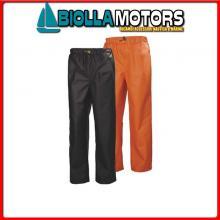 3040685 HH WW GALE RAIN PANT 290 ORANGE 2XL Pantalone HH Gale Rain Pant