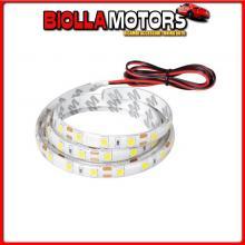 73644 LAMPA STRISCIE A LED PER INTERNO, LUCE BIANCA, 12V - 150 CM