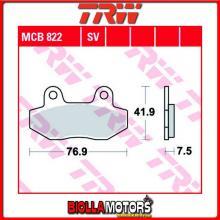 MCB822LC PASTIGLIE FRENO ANTERIORE TRW REX 50 E-Rex, RS Classic 2011- [ORGANICA- LC]