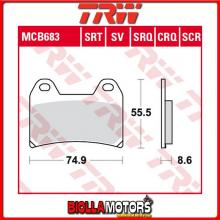 MCB683SV PASTIGLIE FRENO ANTERIORE TRW Victory 1500 alle Modelle 2000-2006 [ORGANICA- ]