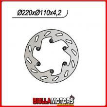 659141 DISCO FRENO POSTERIORE SX NG KTM LC4 SMC Supermoto 4T 625CC 2005/2007 141 220/125/110/4,2/6/6,5 FISSO