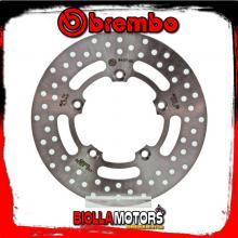 68B40760 DISCO FRENO POSTERIORE BREMBO PIAGGIO BEVERLY I.E. GT 2010- 125CC FISSO