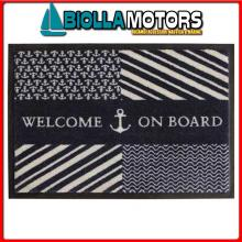 5801908 MB WELCOME TAPPETO 70X50 WELCOME NAVY Tappeto Navy