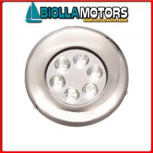 2121361 FARETTO SUB LED PLXSS 9 ROUND< Faretto Subacqueo LED MTM Round Trim