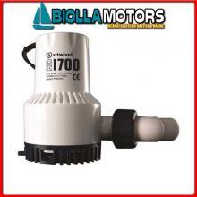1821820 POMPA HD2000 12V Pompe di Sentina Attwood HD
