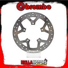 68B407D9 DISCO FRENO ANTERIORE BREMBO PEUGEOT GEO RS 2007-2008 125CC FISSO