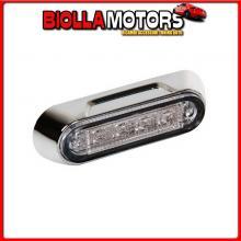 41498 LAMPA PREMIUM, LUCE A 4 LED, MONTAGGIO SUPERFICIE, 12/24V - BIANCO