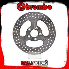 68B407E0 DISCO FRENO POSTERIORE BREMBO HARLEY DAVIDSON XLH 883 1970-1984 883CC FISSO