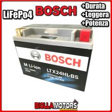 LTX24HL-BS BATTERIA LITIO BOSCH YTX24HL-BS LifePo4 0986122633 YTX24HLBS MOTO SCOOTER QUAD CROSS