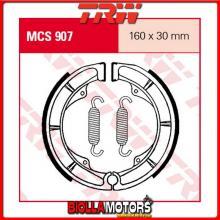 MCS907 GANASCE FRENO POSTERIORE TRW Suzuki GN 250 1982-1983 [ORGANICA- ]