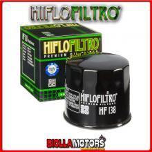 HF138 FILTRO OLIO KYMCO 375 MXU / Maxxer 2008-2012 375CC HIFLO