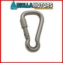 0211860 MOSCHETTONE WIDE LOCK D6 INOX Moschettone Wide Lock