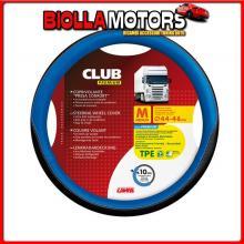 98906 LAMPA CLUB, COPRIVOLANTE PRESA CONFORT IN TPE - M - ? 44/46 CM - BLU