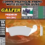 FD164G1651 PASTIGLIE FRENO GALFER PREMIUM ANTERIORI AJP PR 5 SUPERMOTO 250 09-10