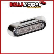 41503 LAMPA PREMIUM, LUCE A 4 LED, MONTAGGIO SUPERFICIE, 12/24V - VERDE