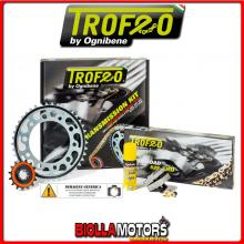 256106000 KIT TRASMISSIONE TROFEO HONDA XL 1000 V Varadero ABS ( conv. # 520 ) 1998-2012 1000CC