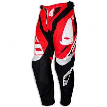 "PI04390BFLU/52 PANTALONE CROSS ENDURO UFO REVOLUTION ""MADE IN ITALY"" ROSSA TAGLIA 52"