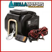 2820503 VERRICELLO BOAT WINCH 1600KG Verricello di Alaggio 1600B-12V