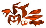 STR-905.SS/OR SET CARENE arancione metallizzato 7 pezzi Aerox/Nitro