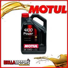102773 1 LITRO OLIO MOTUL 4100 POWER 15W50 100% SINTETICO PER MOTORI 4T