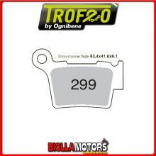 43029901 PASTIGLIE FRENO POSTERIORE OE BMW G 450 ENDURO 2008- 450CC [SINTERIZZATE]
