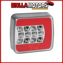 41526 LAMPA C-LED LOOK, FANALE POSTERIORE LED 4 FUNZIONI, 12/24V - SINISTRO