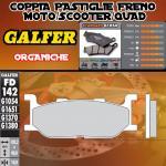FD142G1054 PASTIGLIE FRENO GALFER ORGANICHE ANTERIORI YAMAHA XP 500 T-MAX 00-03