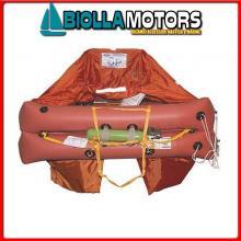 2901154 ZATTERA EV 6P ABS ISO9650 FR/SLO/CRO Zattera di Salvataggio Francia-Croazia 9650 Eurovinil