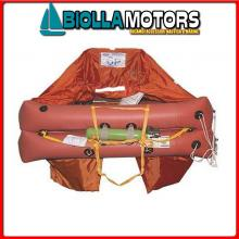 2901157 ZATTERA EV 8P ABS ISO9650 FR/SLO/CRO Zattera di Salvataggio Francia-Croazia 9650 Eurovinil