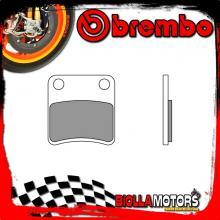 07GR19CC PASTIGLIE FRENO POSTERIORE BREMBO APRILIA MANA GT (PARKING BRAKE) 2009- 850CC [CC - SCOOTER CARBON CERAMIC]