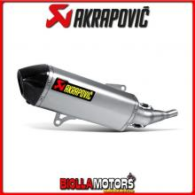 S-Y2SO7-HRSS TERMINALE AKRAPOVIC YAMAHA X-CITY 250 2007-2016 INOX -