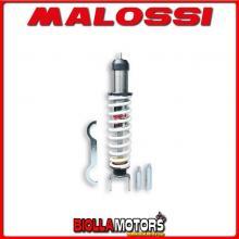 4615218 AMMORTIZZATORE POSTERIORE MALOSSI RS24 LML STAR DELUX 125 4T (E25) , INTERASSE 343 MM -