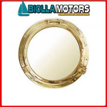 5807526 SPECCHIO OBLO D260 OTTONE Specchio Oblo'