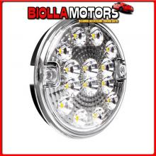 41528 LAMPA FANALE ROTONDO RETROMARCIA LED, 12/24V