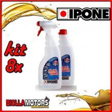 KIT 8X IPONE MOTOWASH POLVERIZZATORE + RICARICA 2X500ML - 409703150