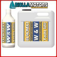 5732436 W&W SHAMPOO 5LT PER VTR Detergente e Cera EM W&W Shampoo