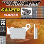 FD291G1054 PASTIGLIE FRENO GALFER ORGANICHE POSTERIORI KTM 530 XC SIX DAYS 10-