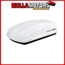 N60003 NORDRIVE BOX 330, BOX TETTO IN ABS, 330 LITRI - BIANCO LUCIDO