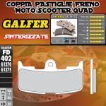 FD402G1370 PASTIGLIE FRENO GALFER SINTERIZZATE ANTERIORI BUELL XB 12 SS LIGHTNING LONG 06-