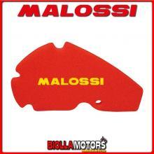 1413713 SPUGNA FILTRO RED SPONGE MALOSSI APRILIA SCARABEO LIGHT 125 4T LC EURO 3 (APRILIA BA03)
