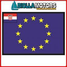 3403820 BANDIERA CROAZIA UE 20X30CM Bandiera Croazia UE
