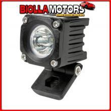 72338 LAMPA WL-19, FARO AUSILIARIO A 1 LED - 9/32V - LUCE FOCALIZZATA - BIANCO