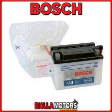 YB4L-B BATTERIA BOSCH 12V 4AH DERBI All 50cc Models 50 - 0092M4F170 YB4LB