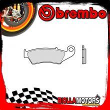 07KA17TT PASTIGLIE FRENO POSTERIORE BREMBO FANTIC MOTOR MX REGOLARITࡃASA 2008- 50CC [TT - OFF ROAD]