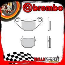 07KA07SD PASTIGLIE FRENO POSTERIORE BREMBO FANTIC MOTOR CABALLERO MOTARD AIRCOOLED 2010- 125CC [SD - OFF ROAD]