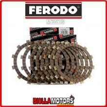 FCD0506 SERIE DISCHI FRIZIONE FERODO GILERA NGR 250 250CC 1985- CONDUTTORI STD