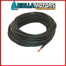 202003525 CAVO BATTERIA BLACK 1x50-25MT Cavi Elettrici RI.Na. per Batterie